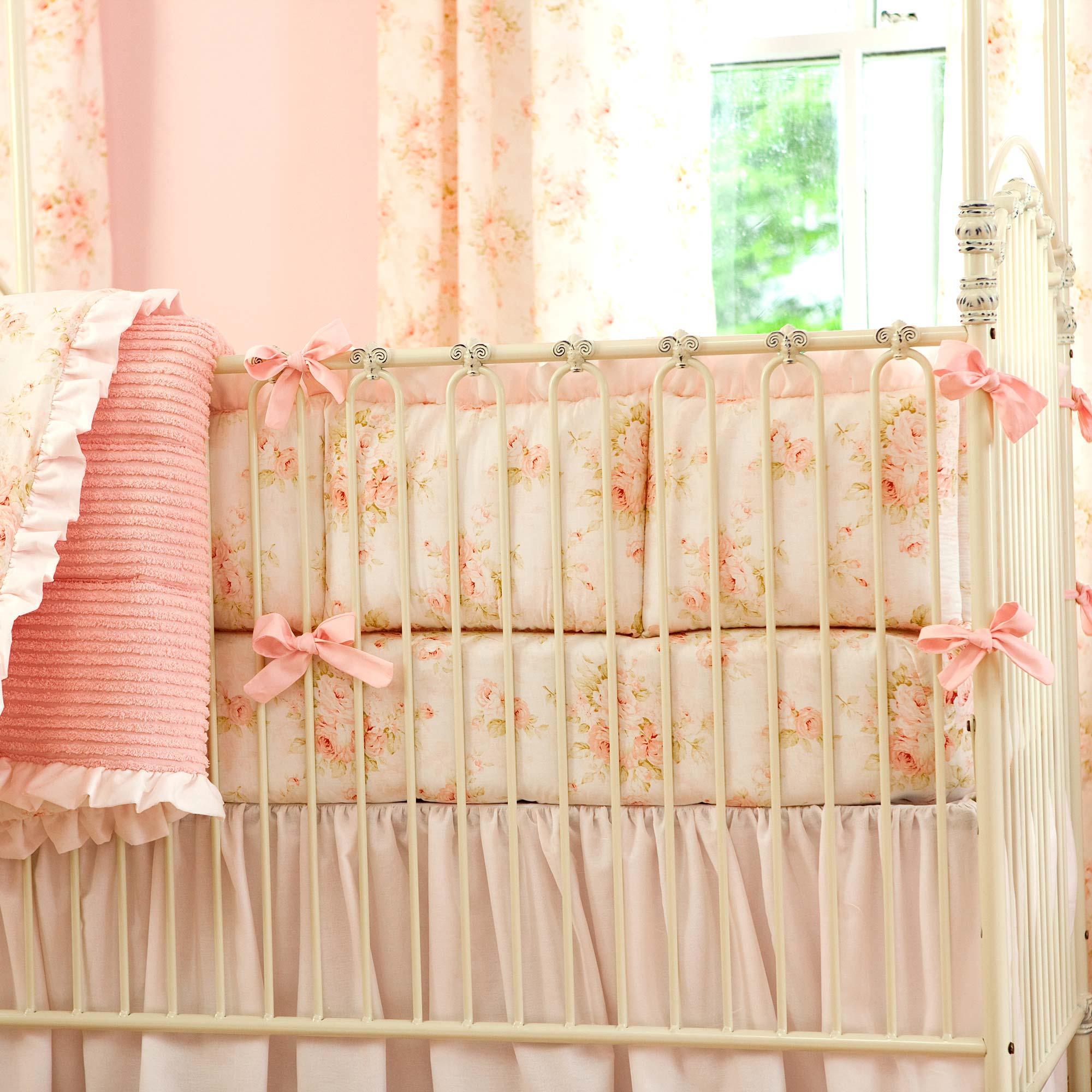 Babies R Us Elephant Bedding | Crib Bumpers | Breathable Mesh Bumper