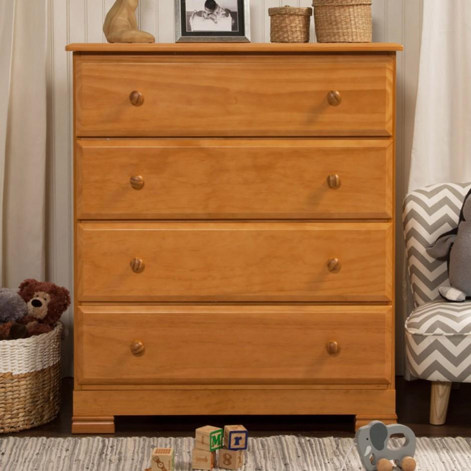 Baby Dressers Espresso Finish | Kalani Crib White | Davinci Kalani Dresser