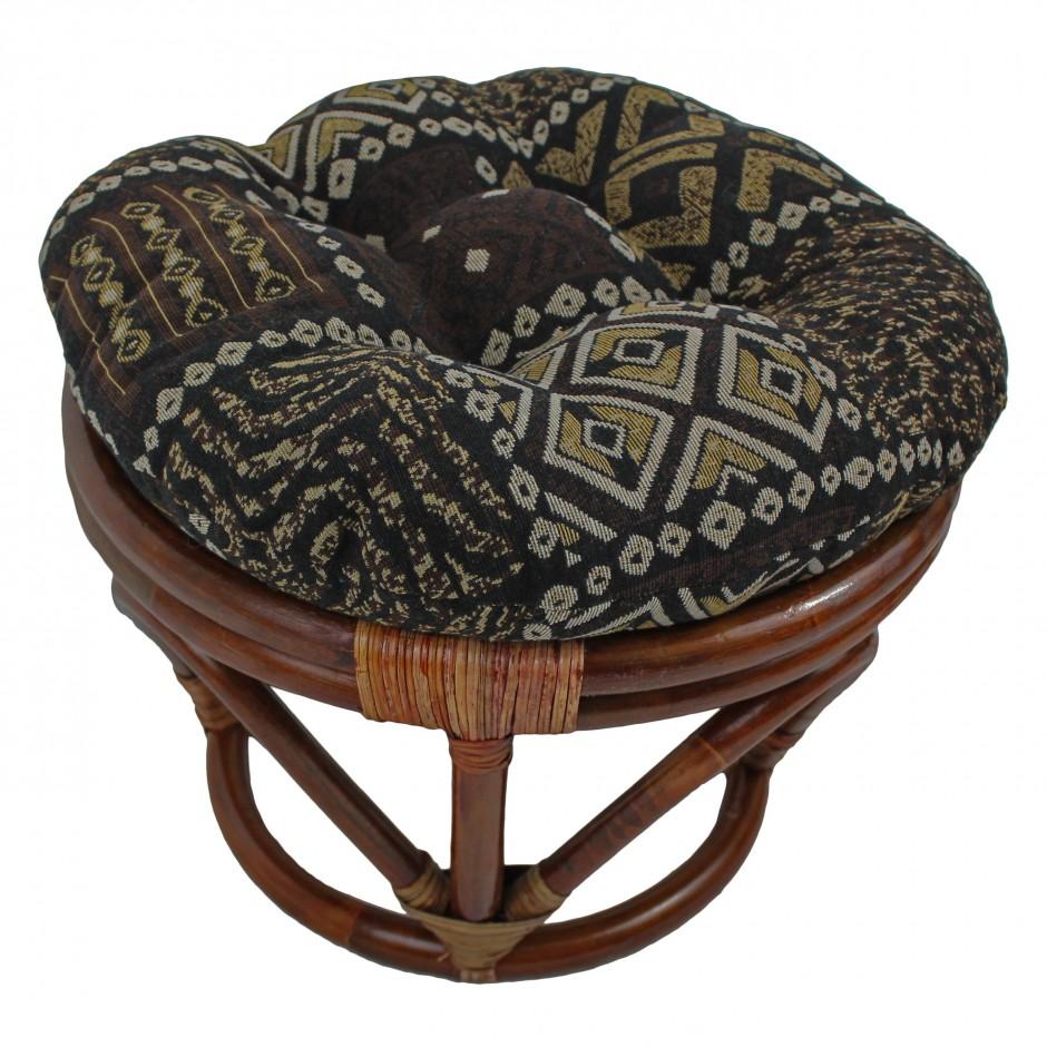 Blue Papasan Cushion | Papasan Cushion | Hanging Papasan Chair