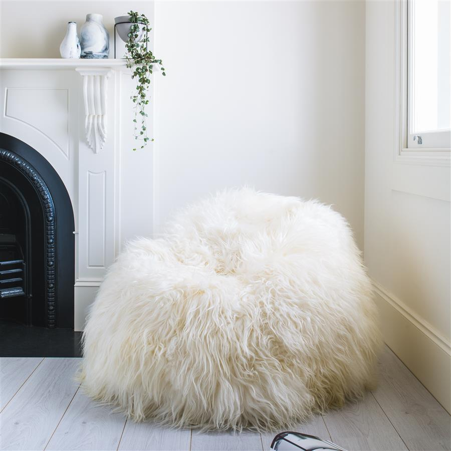 Buy Bean Bag Chair | Massive Bean Bag | Sheepskin Beanbag