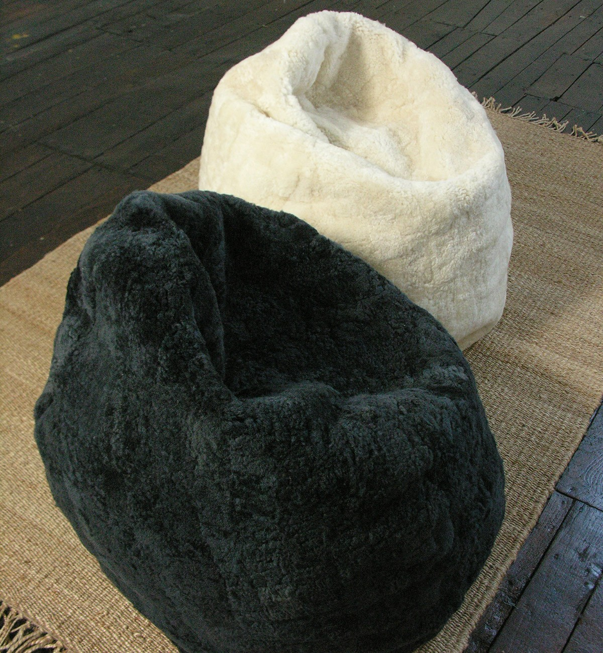 Buy Beanbag Online | Sherpa Bean Bag | Sheepskin Beanbag