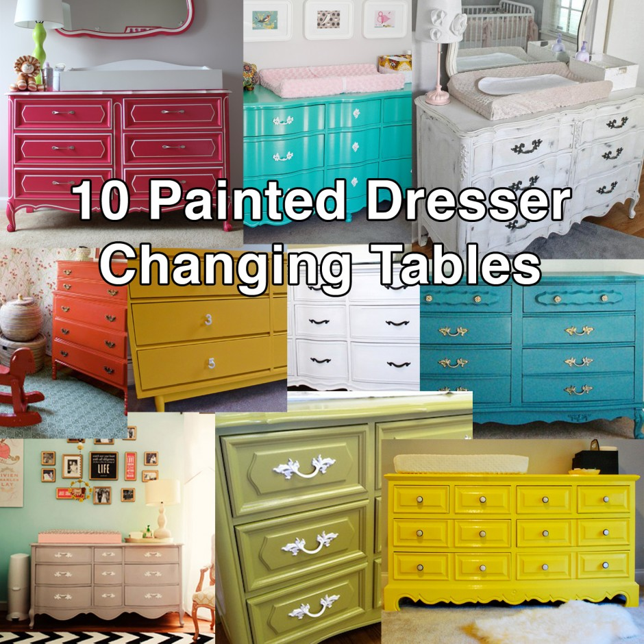 Changing Table Dresser | Dresser As Changing Table | Land Of Nod Changing Table