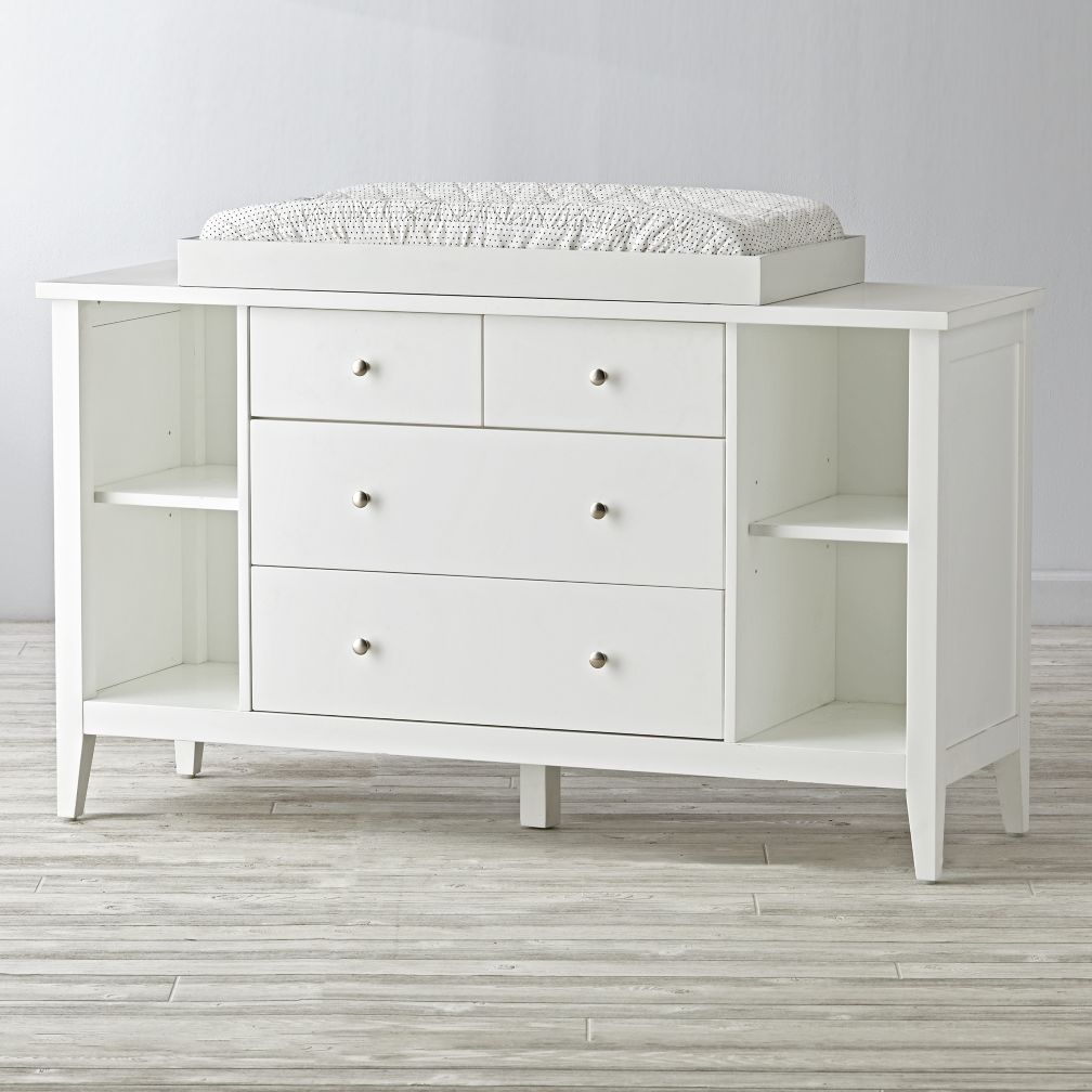 Attractive Changing Table Hutch | Changing Table Dresser | Target Baby Nursery