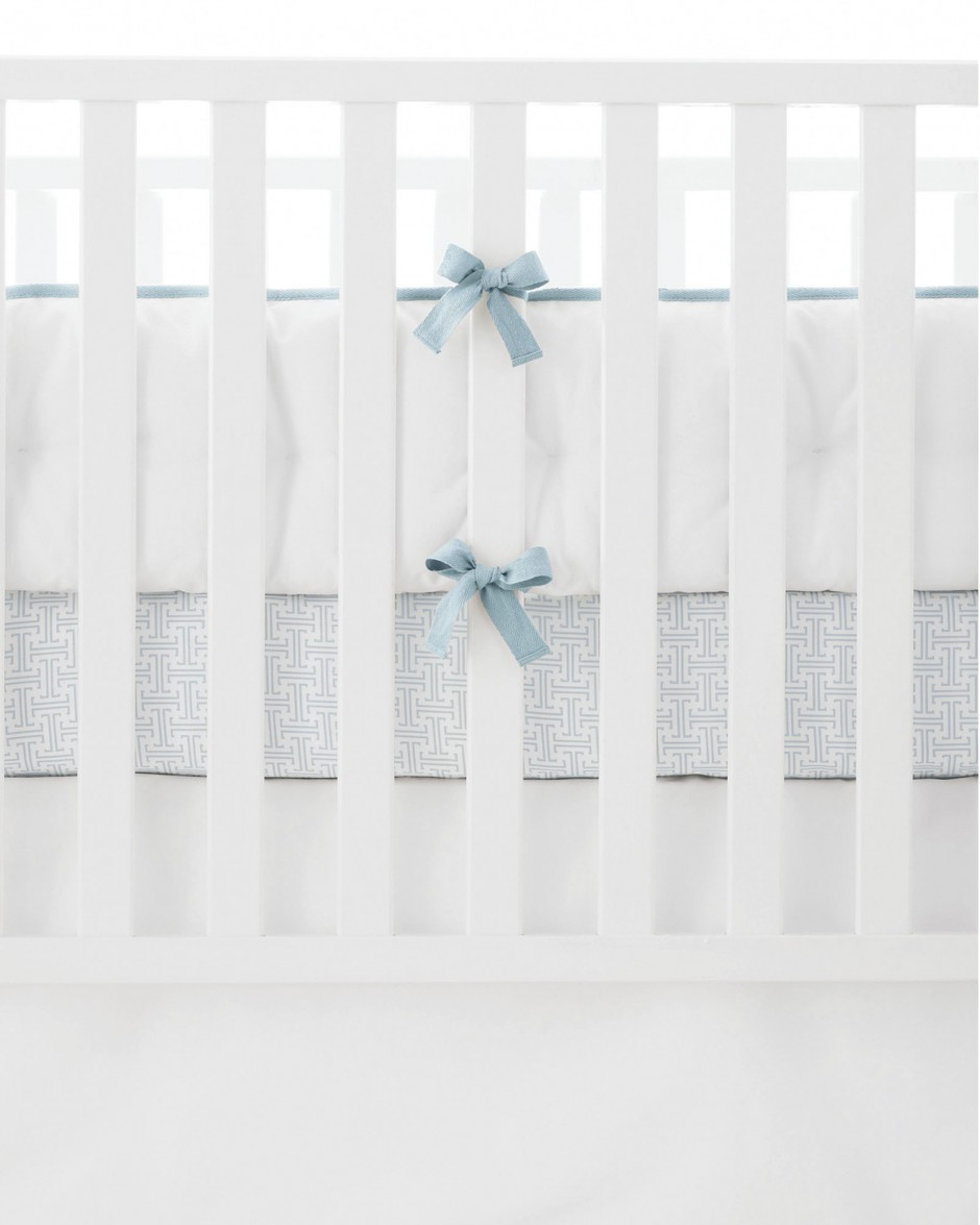 Cradle Bumper | Crib Bumpers | Breathable Baby Crib Liner