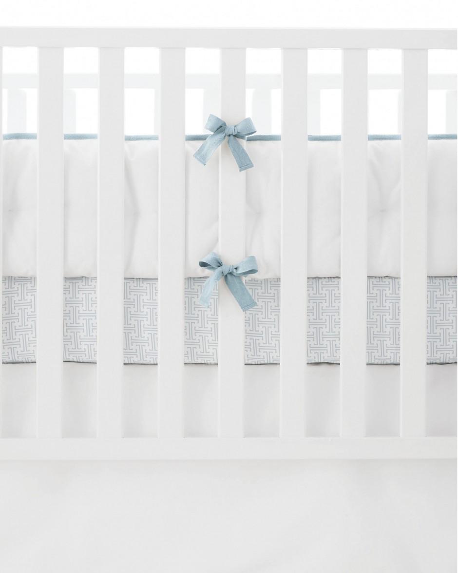 Cradle Bumper | Crib Bumpers | Breathable Baby Crib Liner