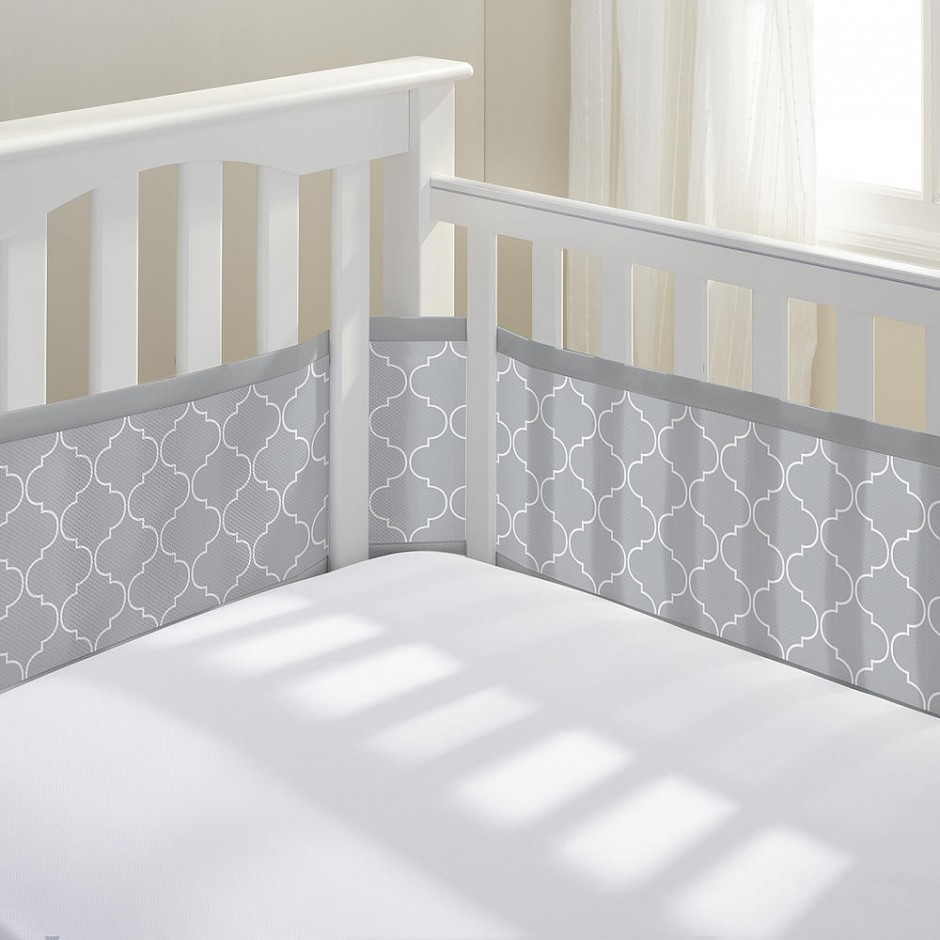 Crib Bumpers | Black Crib Bumper | Minnie Mouse Crib Bumper