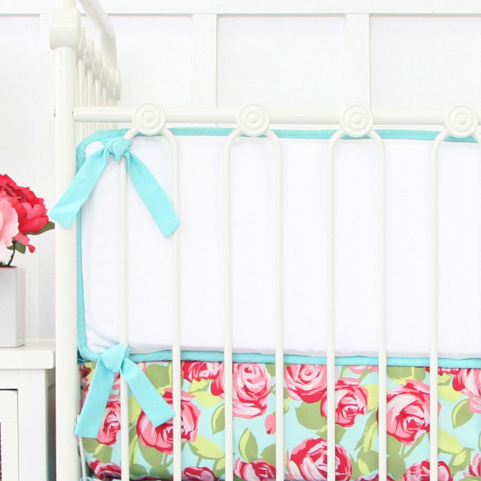 Crib Bumpers | Breathablebaby Mesh Crib Liner | Mesh Bumpers