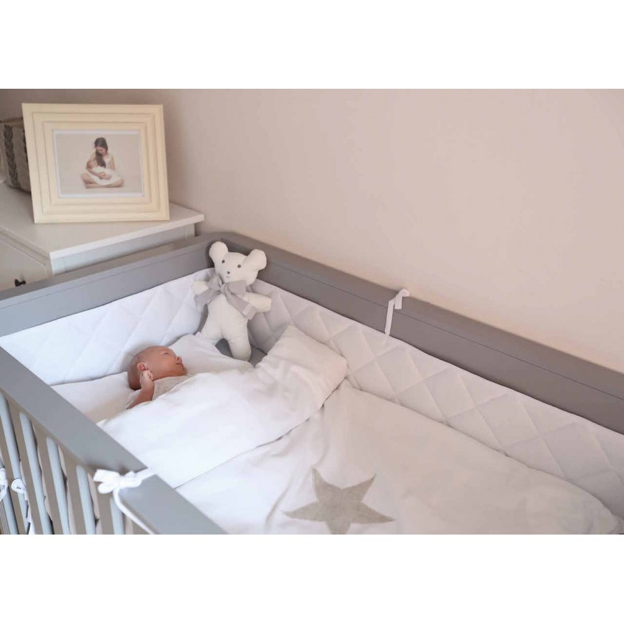 Crib Bumpers | Bumpers In Cribs | Breathable Bumper Pads