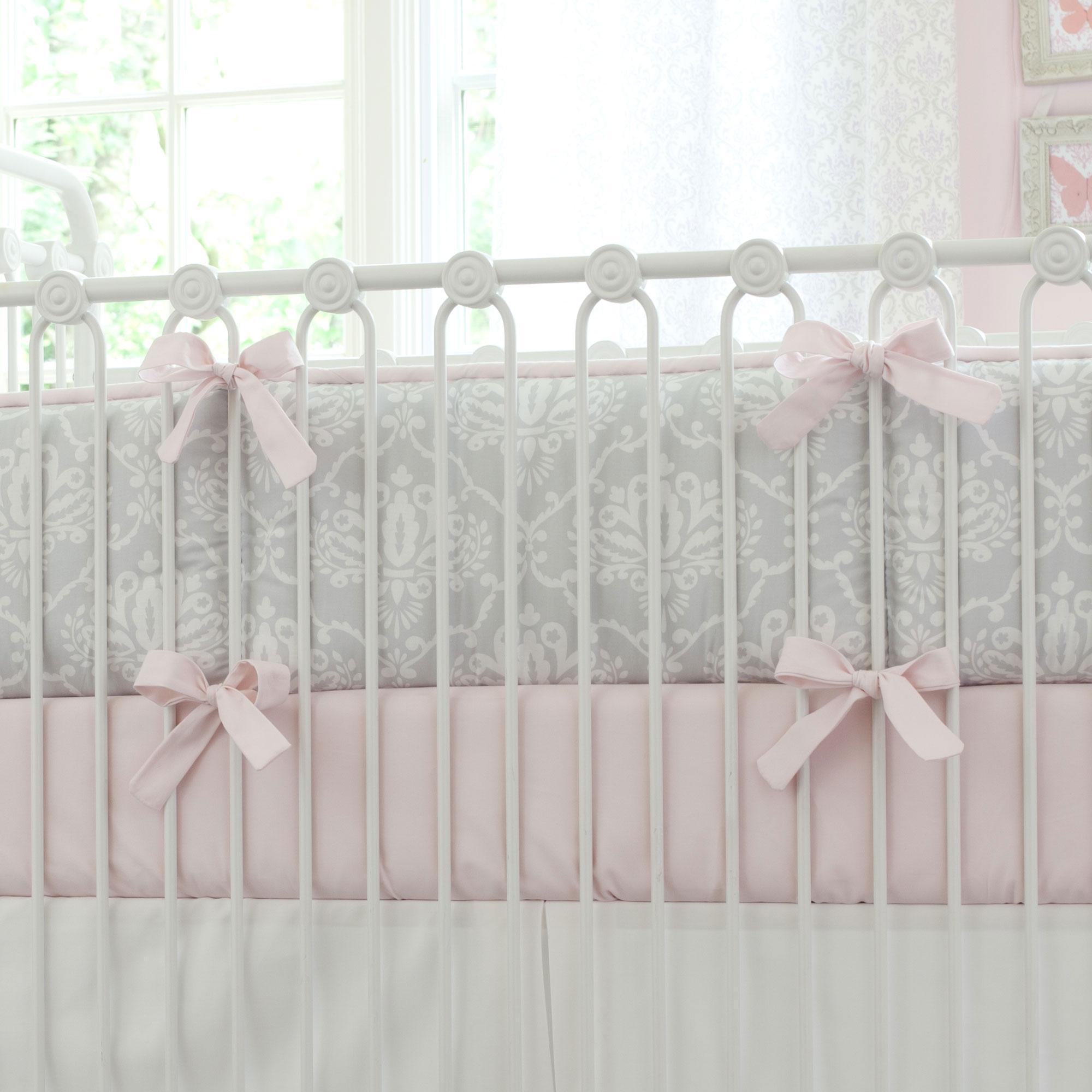 Crib Bumpers | Navy Blue Crib Bumper | Crib Bumper Set