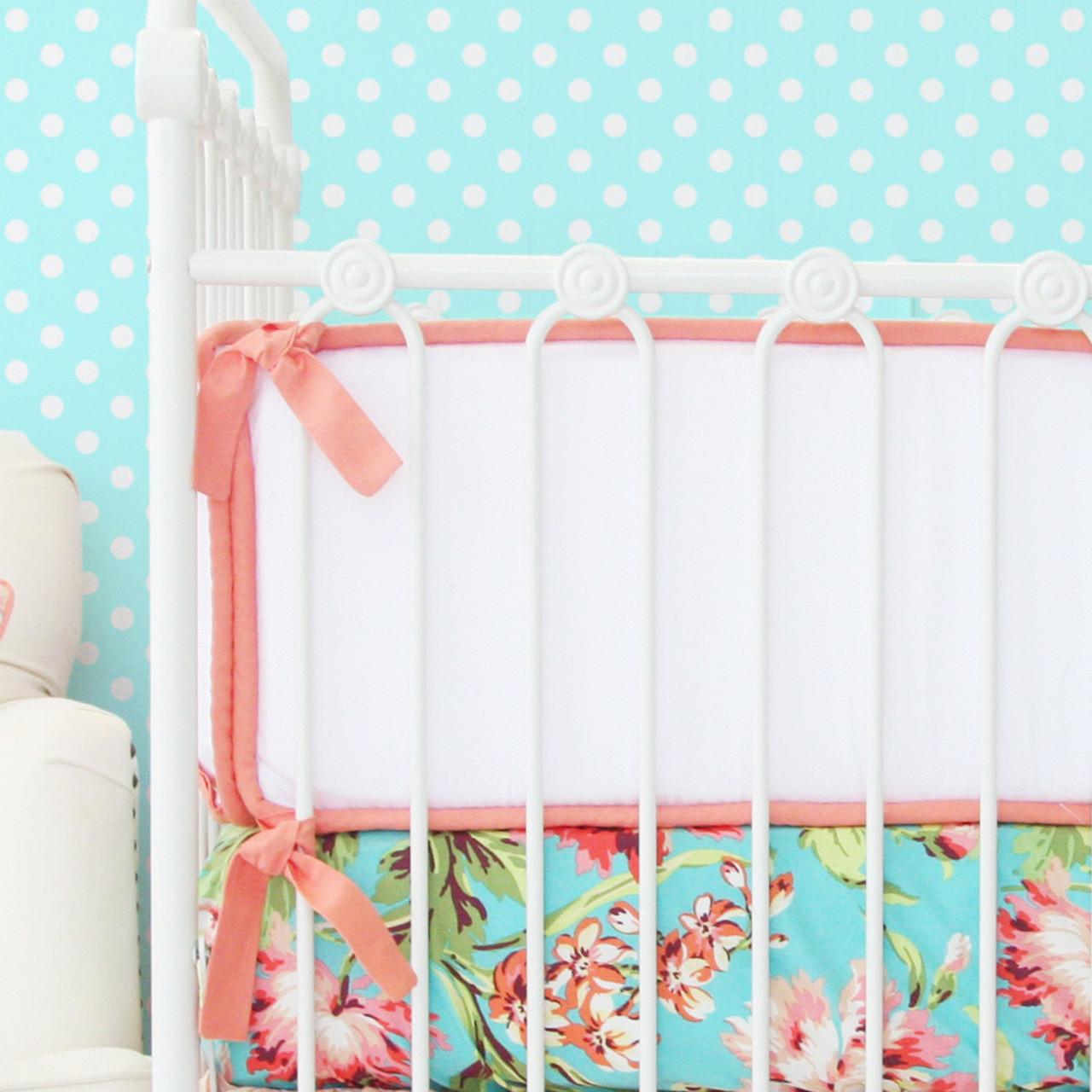 Crib Bumpers | Safe Crib Bumpers | Hot Pink Crib Bumper