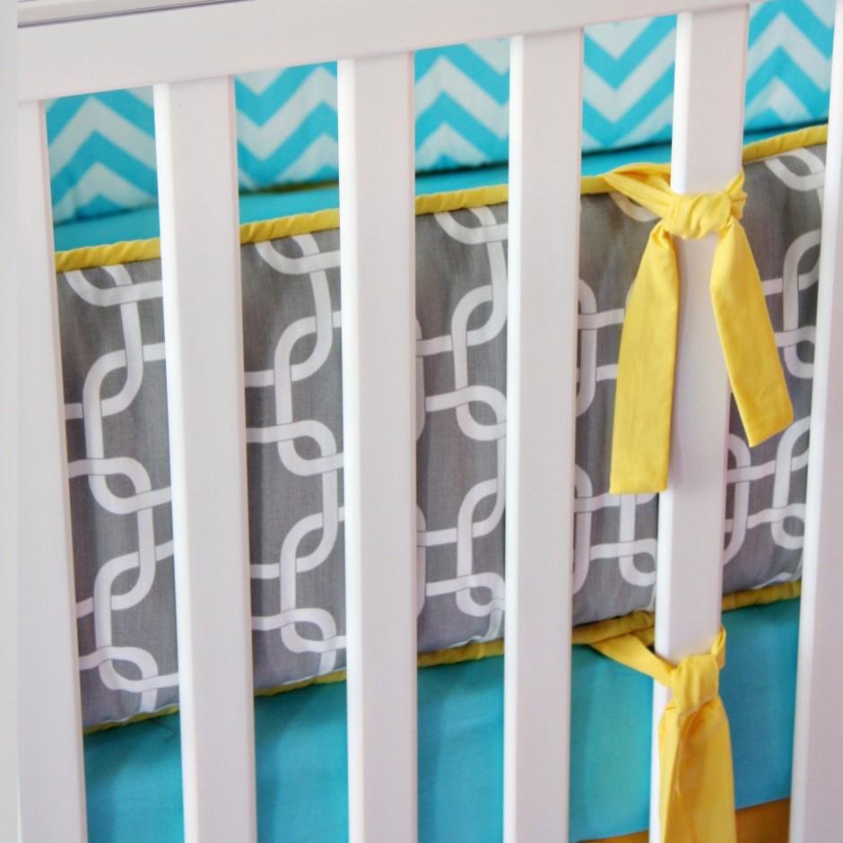 Crib Mesh Bumper | Crib Bumper Set | Crib Bumpers
