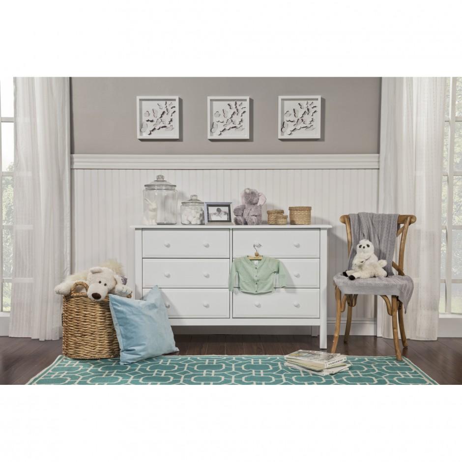 Davinci Kalani Dresser | Davinci Kalani Set | Chestnut Dresser