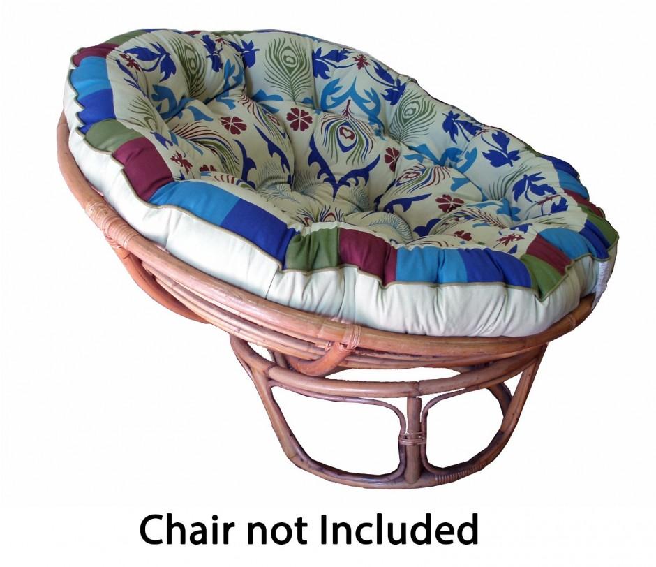 Double Papasan Cushions | Large Papasan Chair | Papasan Cushion