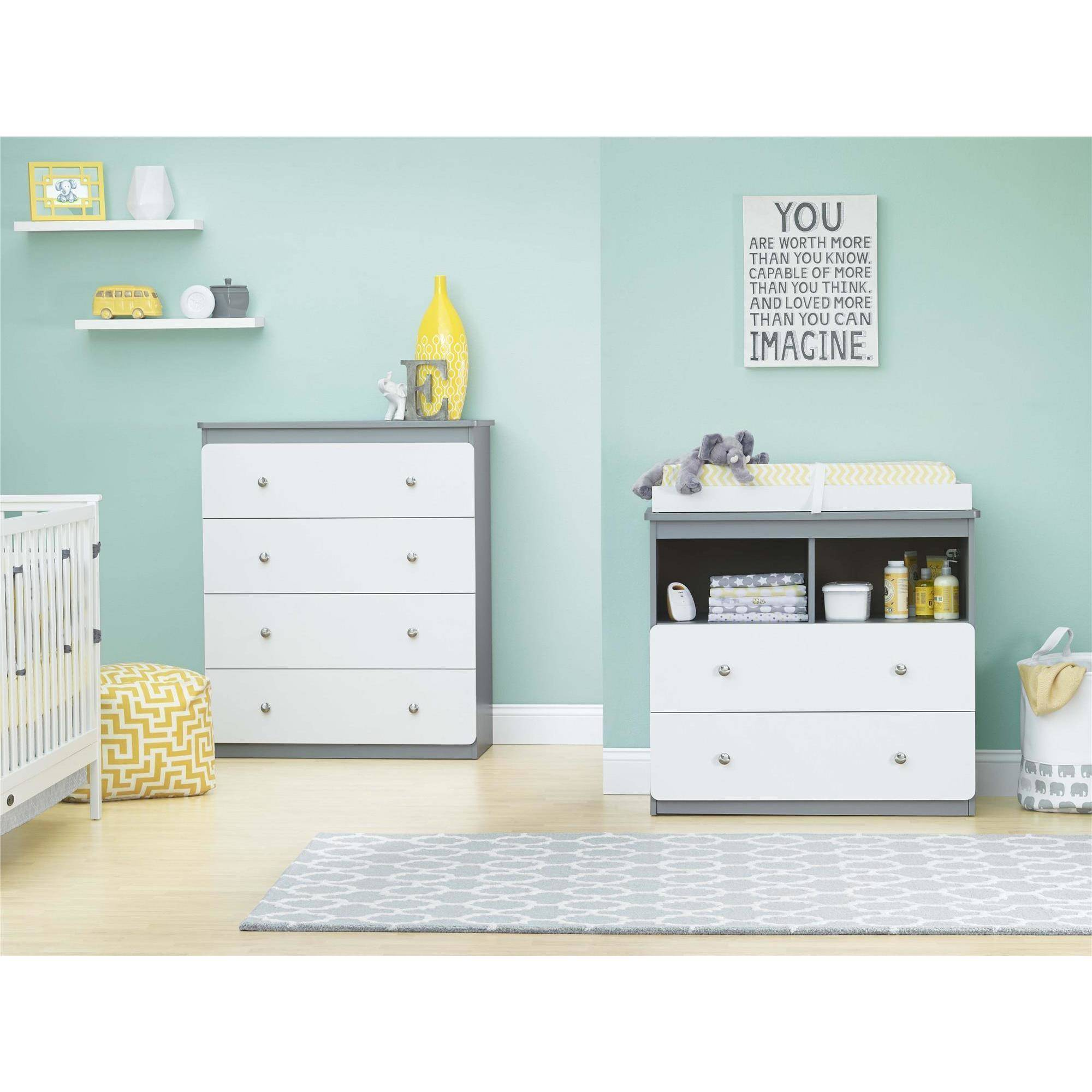 Dresser for Changing Table | Solid Wood Changing Table Dresser | Changing Table Dresser
