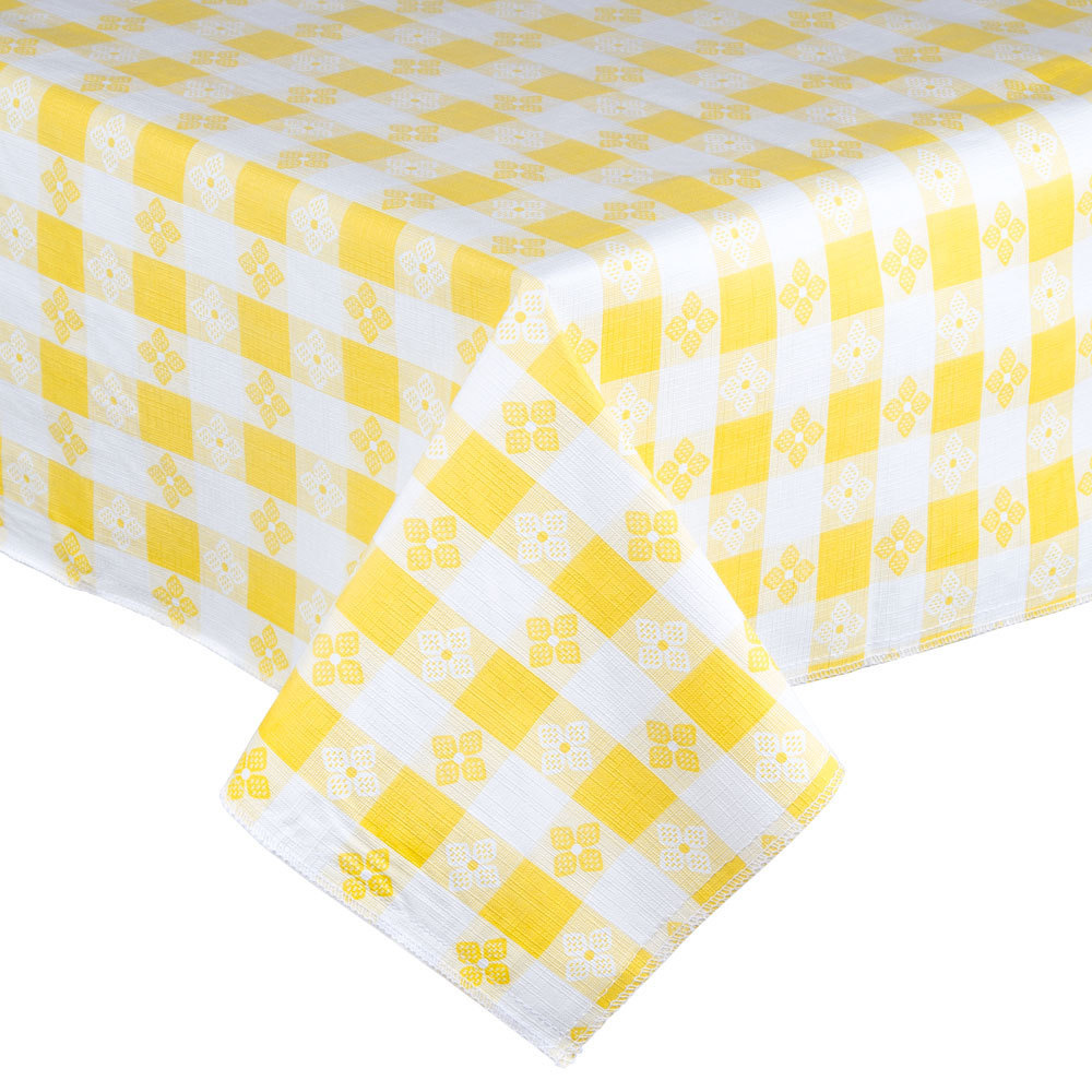 Fancy Tablecloths | Vinyl Tablecloths with Flannel Backing | Vinyl Tablecloths