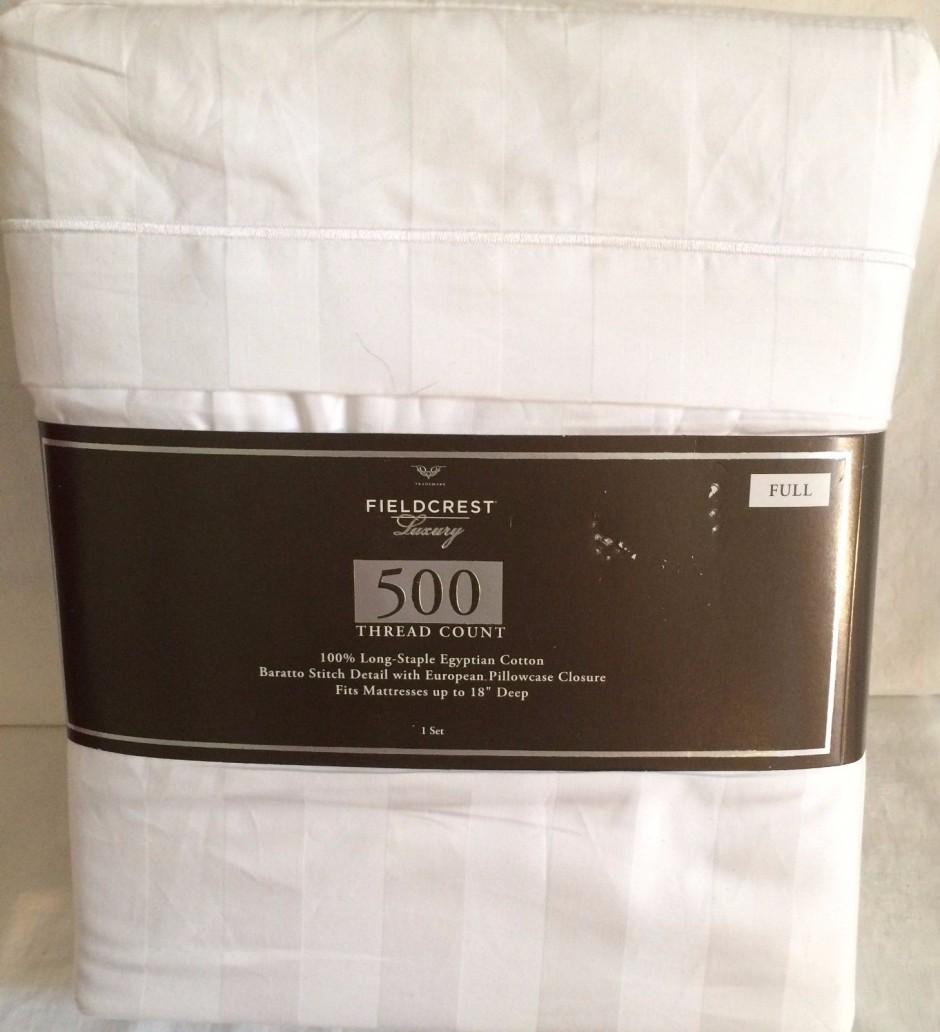 Field Crest Sheets | 300 Count Egyptian Cotton Sheets | Fieldcrest Luxury Sheets