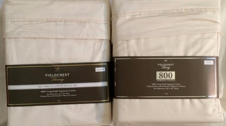 Fieldcrest Cannon Sheets | Fieldcrest Luxury Sheets | Fieldcrest Duvet