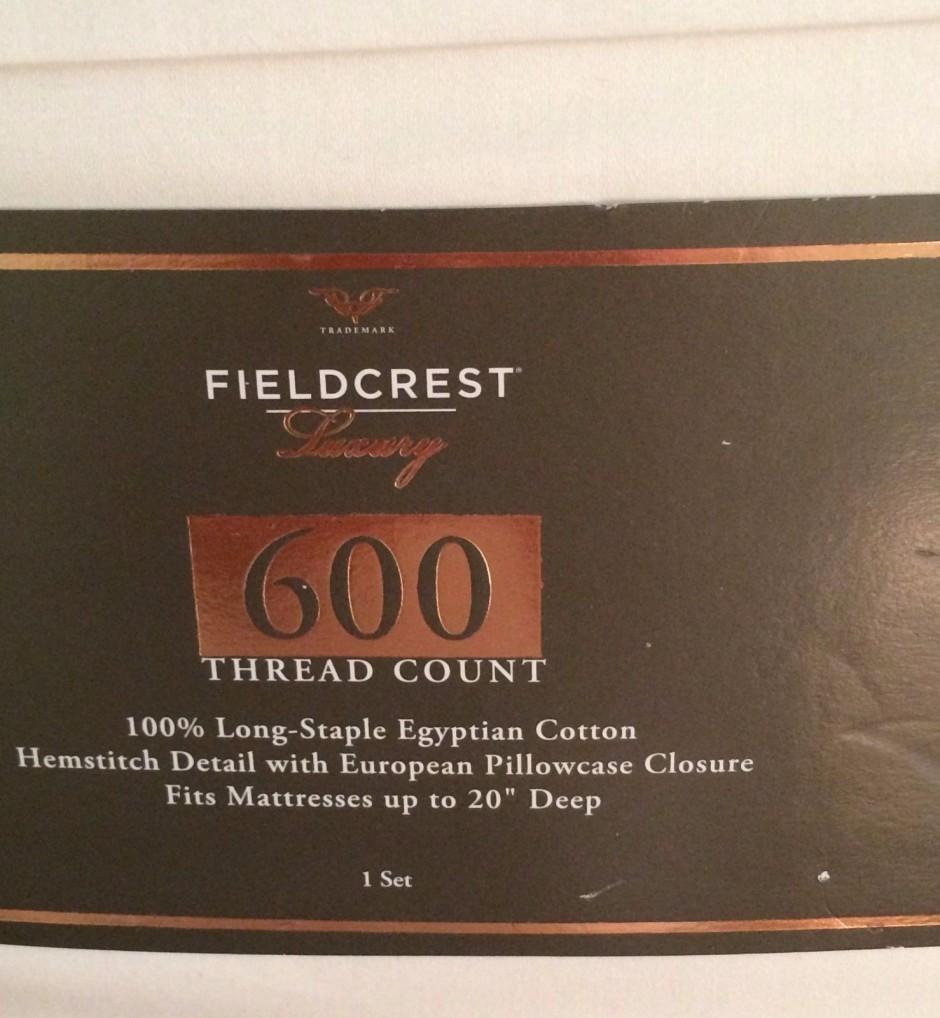 Fieldcrest Luxury Sheets Review | Fieldcrest Luxury Sheets | Target Sheets Bedding