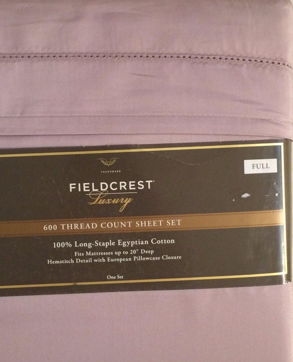 Fieldcrest Matelasse | Fieldcrest Luxury Sheets | Fieldcrest Luxury Bath Towels