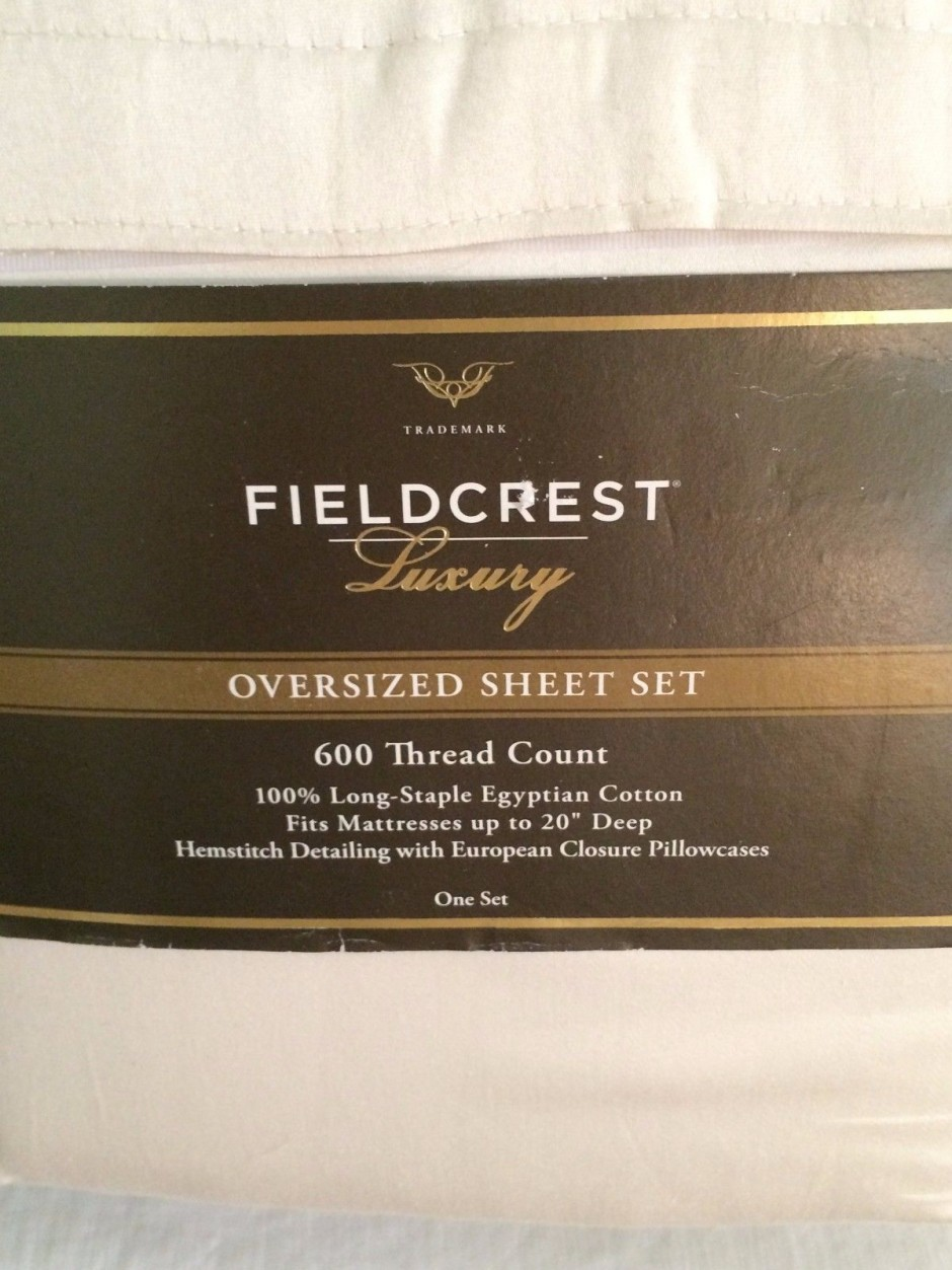 Fieldcrest Sheets | Fieldcrest Luxury Sheets | Target Sheets 1000 Thread Count