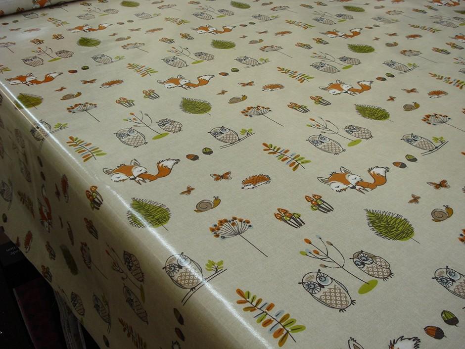 Fitted Oval Vinyl Tablecloths | 70 Round Tablecloth | Vinyl Tablecloths