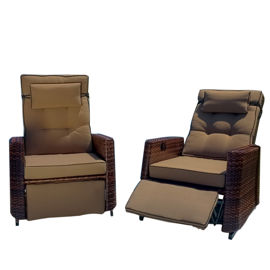 Glider Recliner | Double Rocking Chair | Rocker Glider Chair