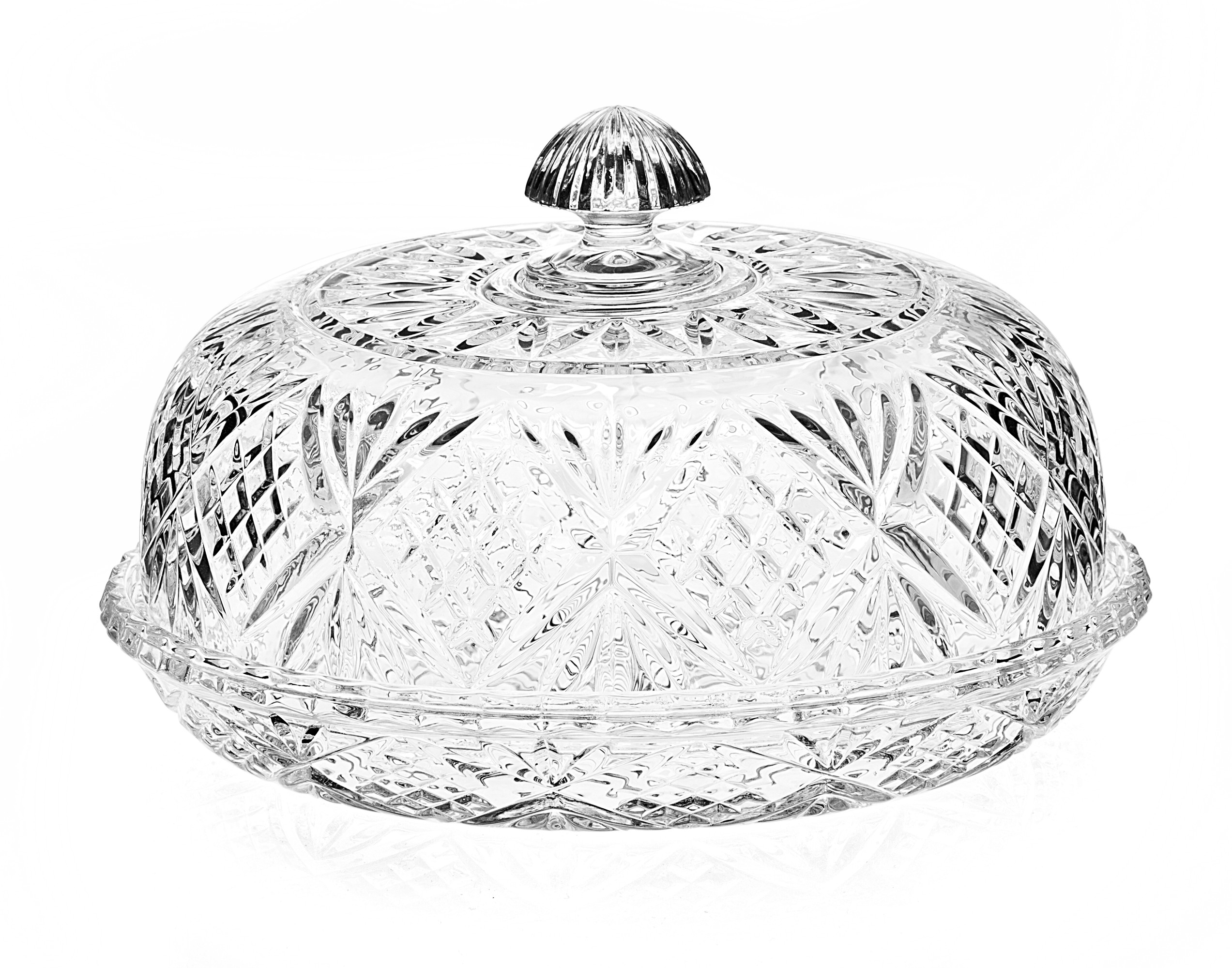Godinger Crystal Beverage Dispenser | Godinger | Godinger Silver Art Tray