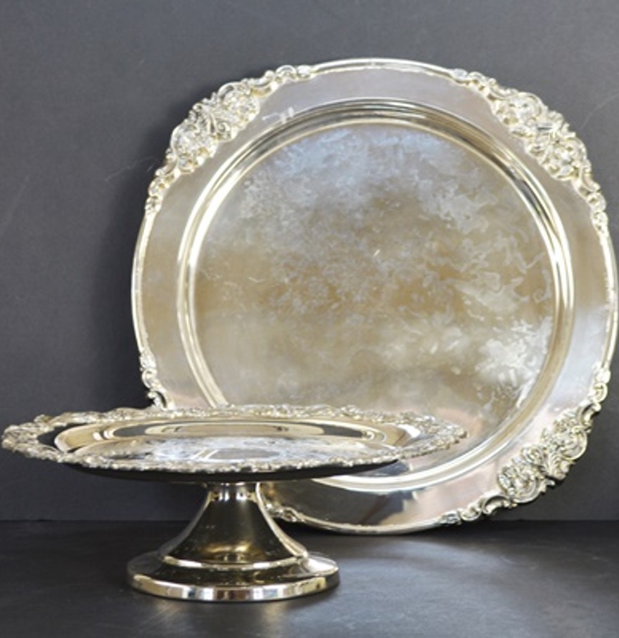 Godinger | Shannon Crystal Cake Plate | What Is Godinger Silver