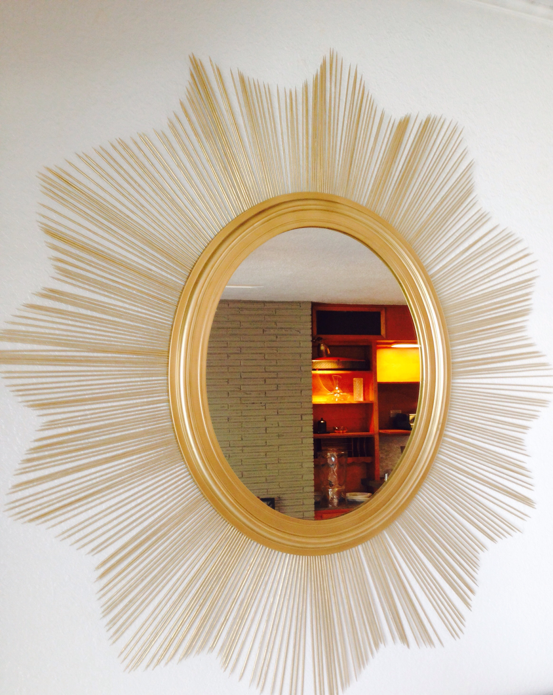 Gold Sunburst Mirror | Martha Stewart Sunburst Mirror | Martha Stewart Valance