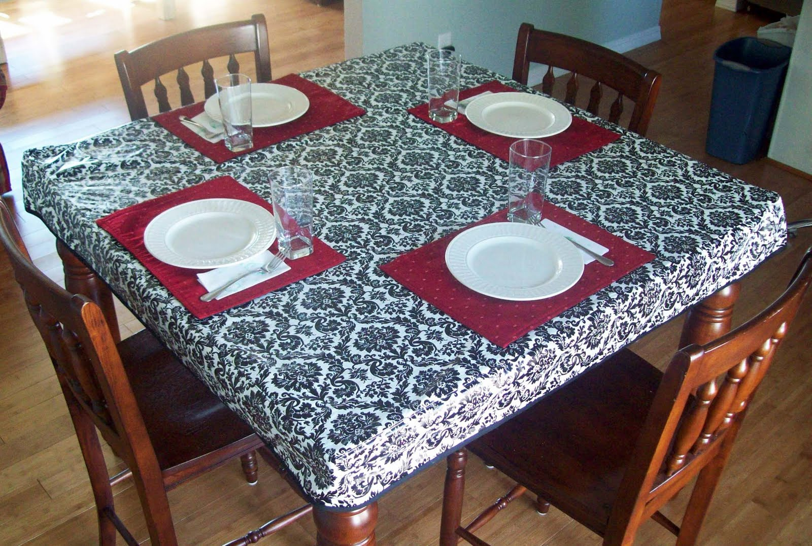 Heavy Duty Vinyl Tablecloth | Vinyl Tablecloths | Elastic Vinyl Tablecloth  Oval