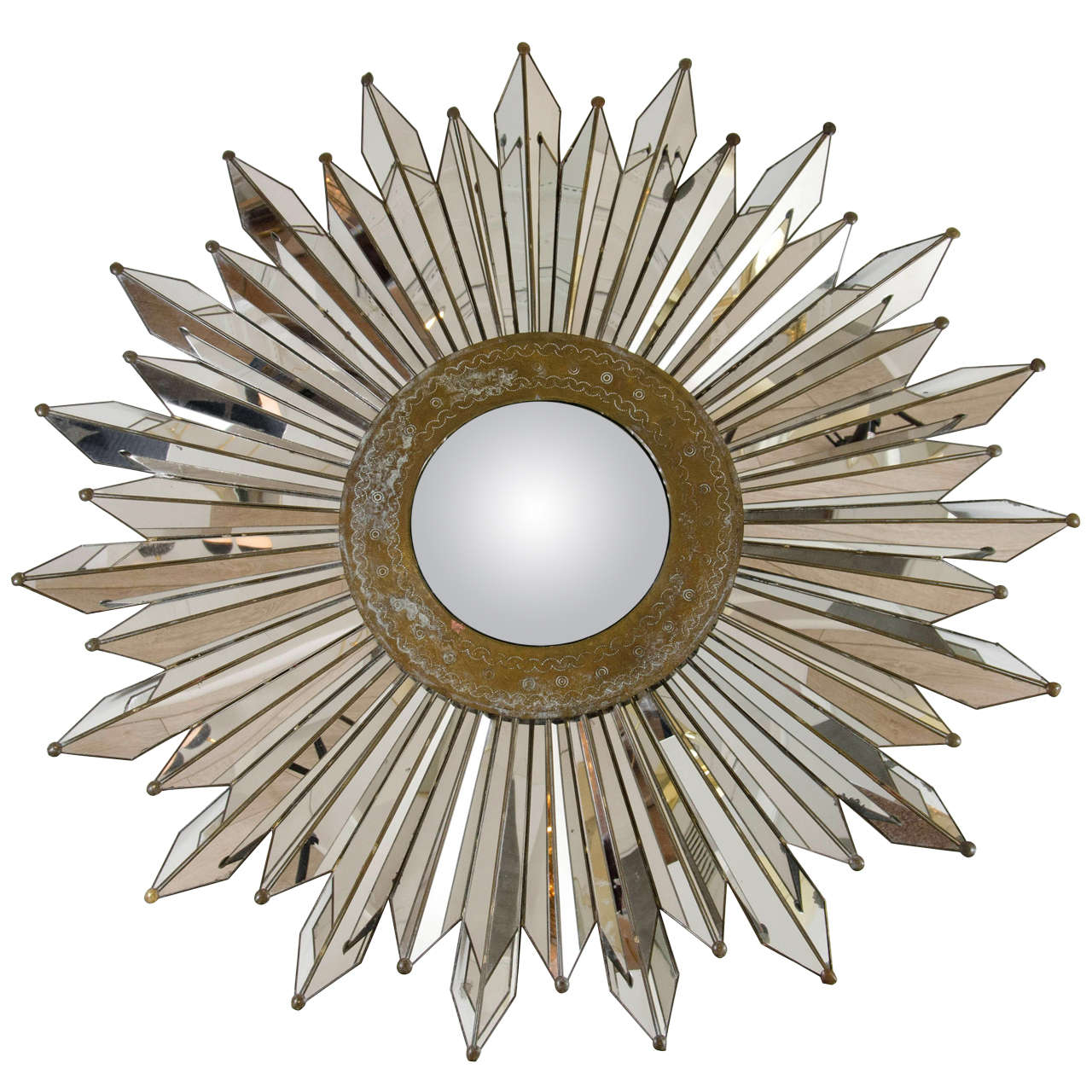 Home Depot Starburst Mirror | Gold Sunburst Mirror | Martha Stewart Sunburst Mirror