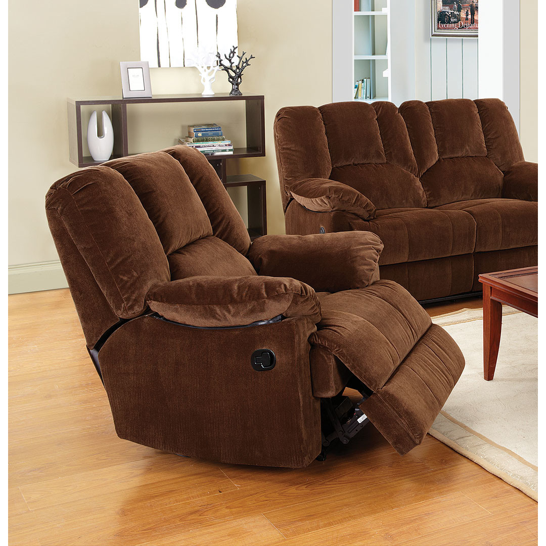 Irvington Swivel Glider Recliner | Reclining Glider and Ottoman | Glider Recliner