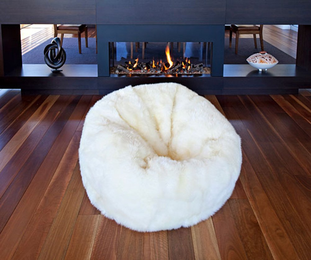 Jumbo Bean Bag Chair | Bean Bag Styles | Sheepskin Beanbag