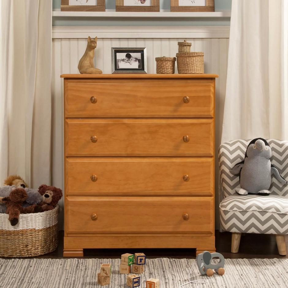 Kalani Changing Table | Davinci Kalani Dresser | Da Vinci 4 In 1 Convertible Crib