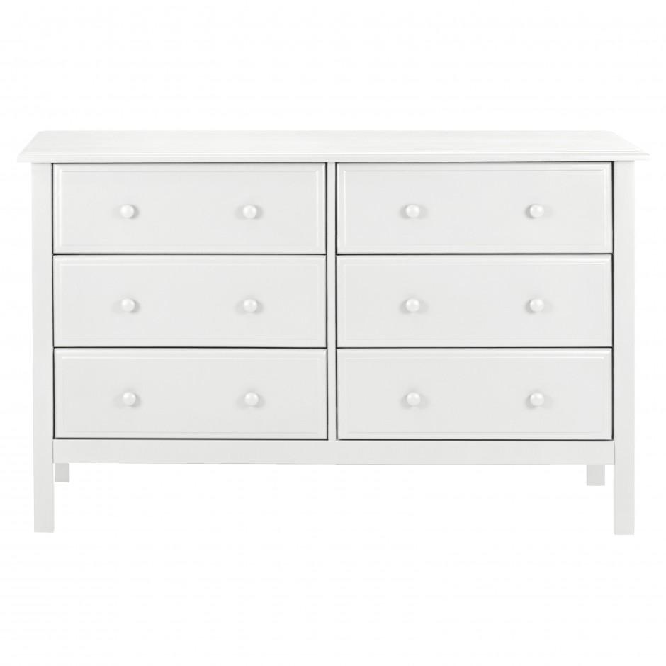 Kalani Crib | Davinci Kalani Dresser | White Combo Dresser