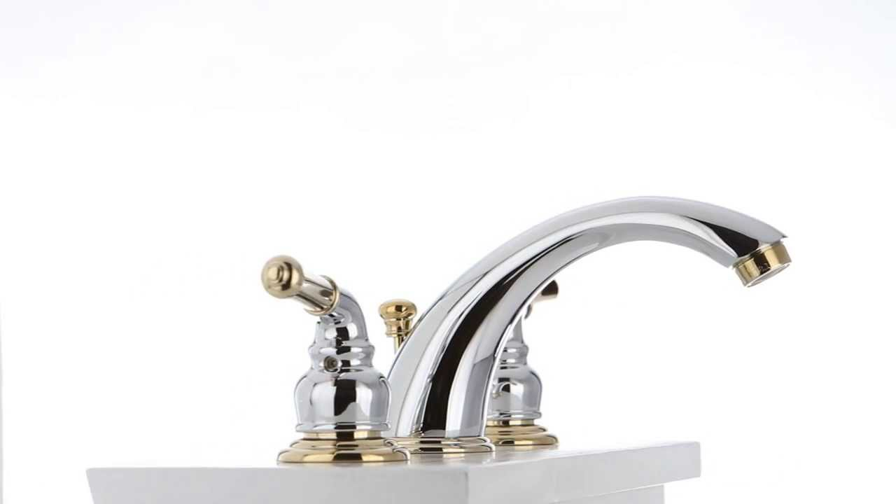 Kingston Brass | Antique Brass Finish Bathroom Faucets | Kingston Brass Concord