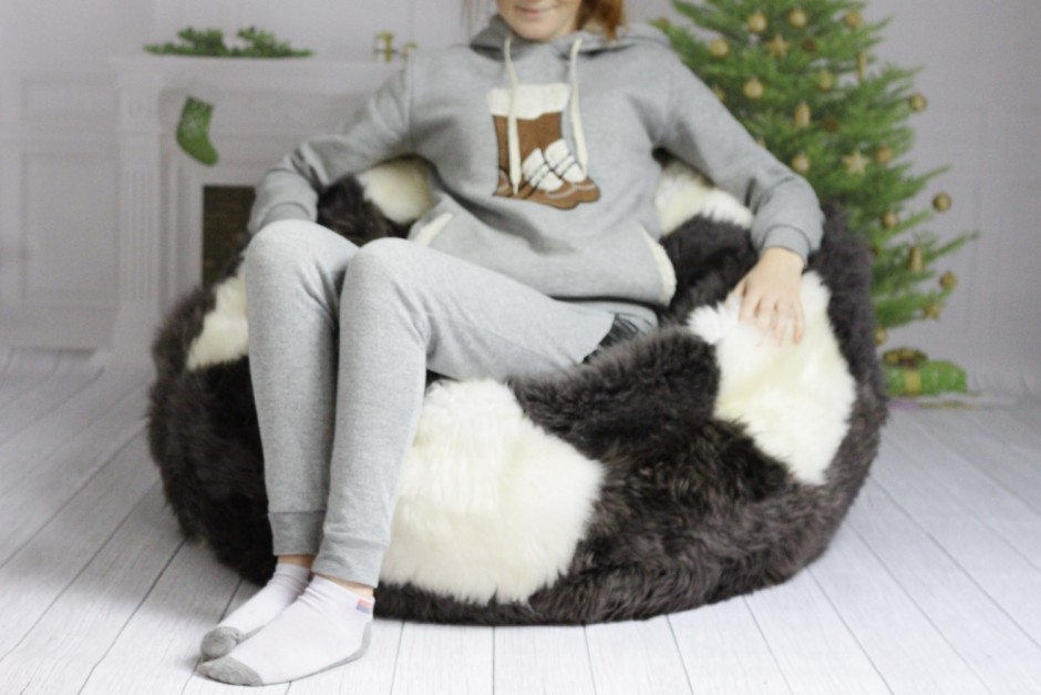 Large Beanbag | Free Bean Bag Chairs | Sheepskin Beanbag
