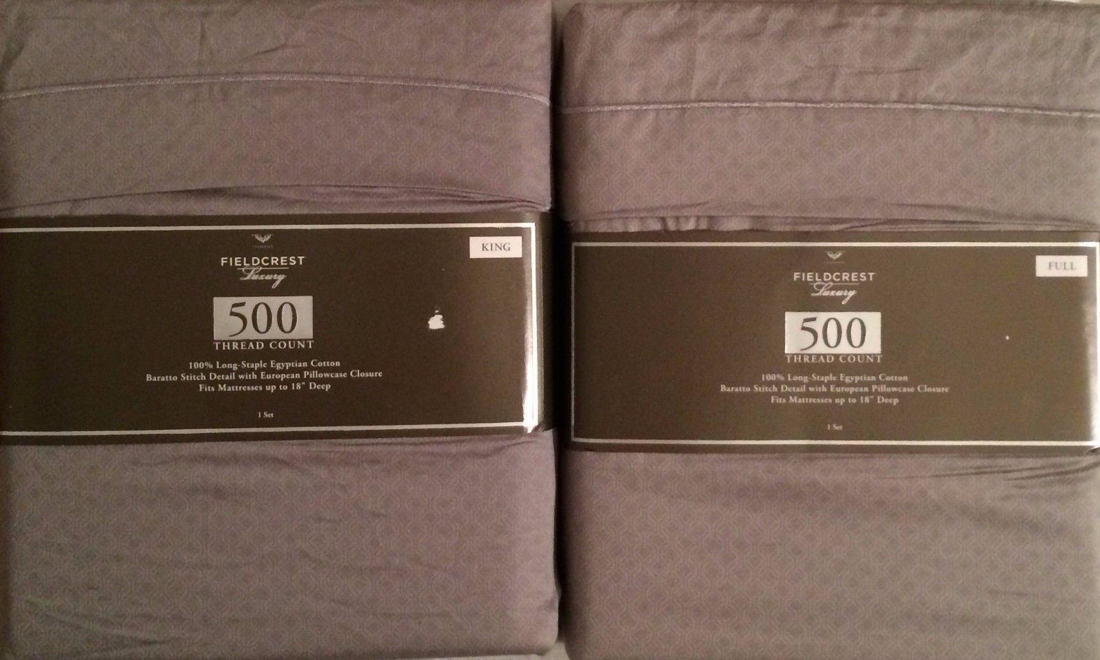 Luxury Egyptian Cotton | Fieldcrest Matelasse Blanket | Fieldcrest Luxury Sheets