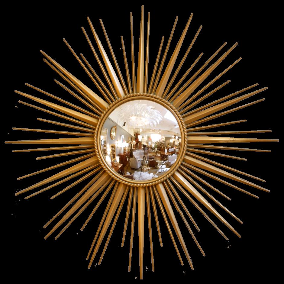 Martha Stewart Draperies   Martha Stewart Sunburst Mirror   Antique Gold Sunburst Mirror