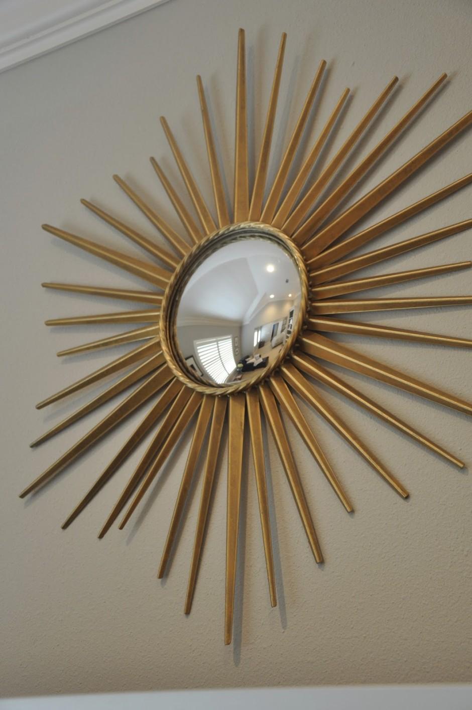 Martha Stewart Sunburst Mirror | Martha Stewart Drapery Panels | Martha Stewart Grommet Curtains