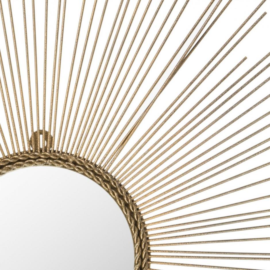Martha Stewart Sunburst Mirror | Martha Stewart Slipcovers | Silver Sunburst Mirror Wall Decor