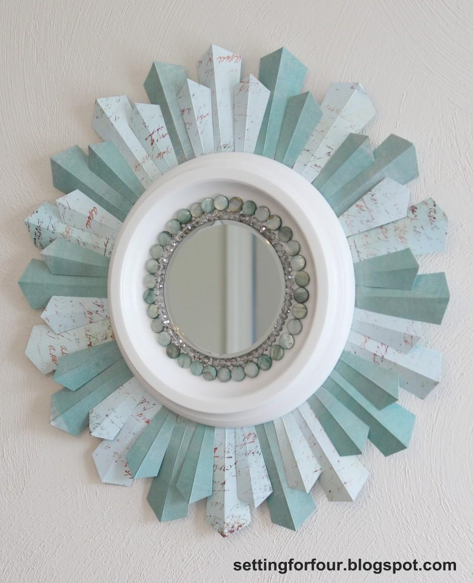 Martha Stewart Sunburst Mirror | Martha Stewart Valance | Martha Stewart Curtains Home Depot