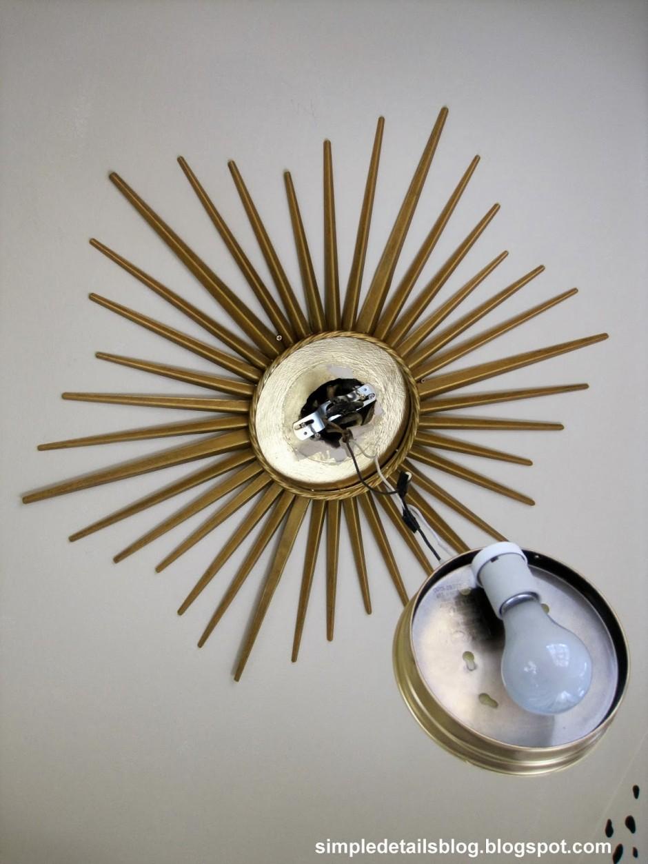 Martha Stewart Sunburst Mirror | Mirror Sunburst | Cafe Curtains Martha Stewart