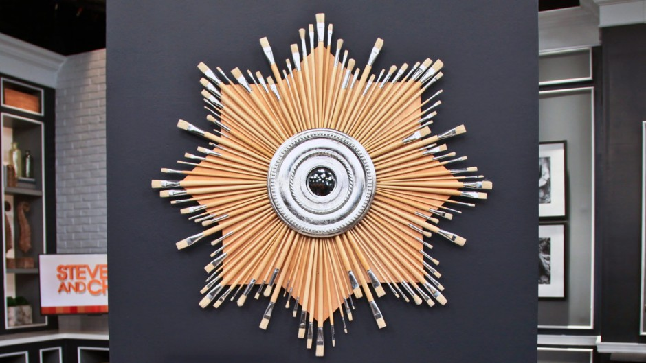 Martha Stewart Sunburst Mirror | Mirrors Sunburst | Gold Sun Mirror