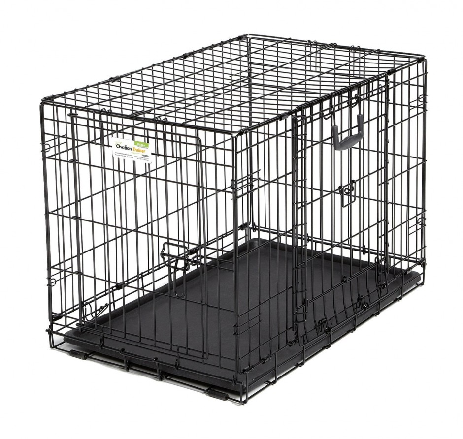Midwest Dog Crates | Midwest Icrate Single Door Folding Dog Crates | Dog Crates Amazon