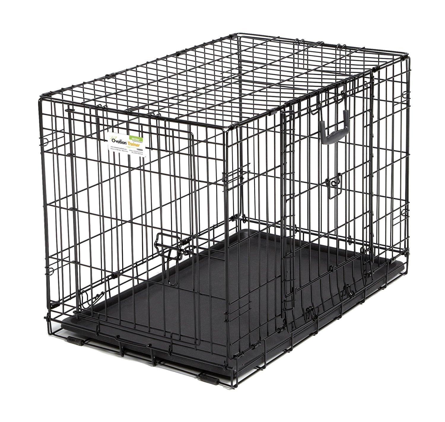 midwest dog crates midwest icrate single door folding dog crates dog crates amazon - Collapsible Dog Crate