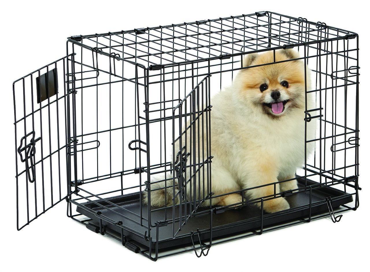 Midwest Dog Crates | Midwest Solution Series Ginormus Double Door Dog Crate | Amazon Large Dog Crate