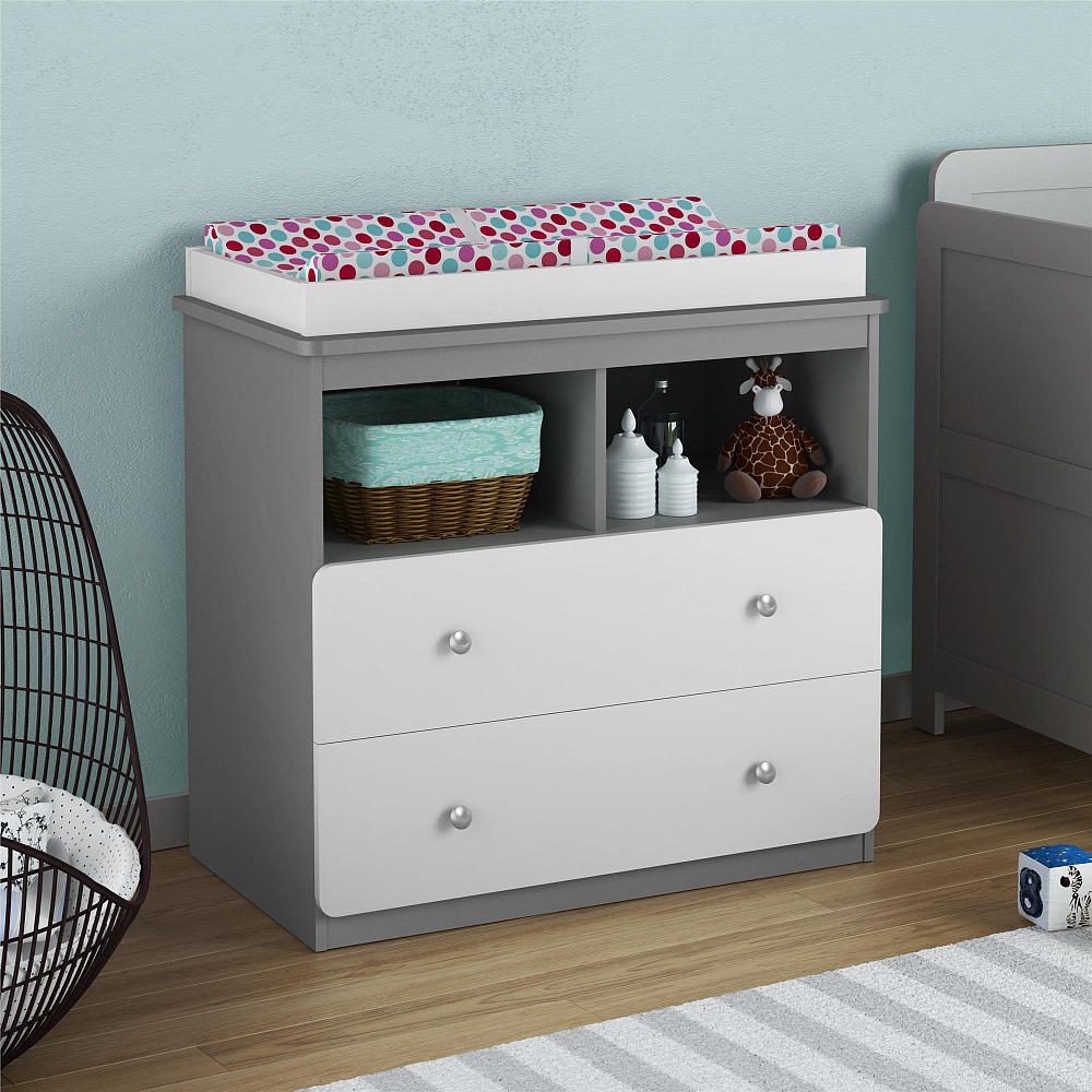 Oeuf Changing Station | Changing Table Dresser | Espresso Changing Table