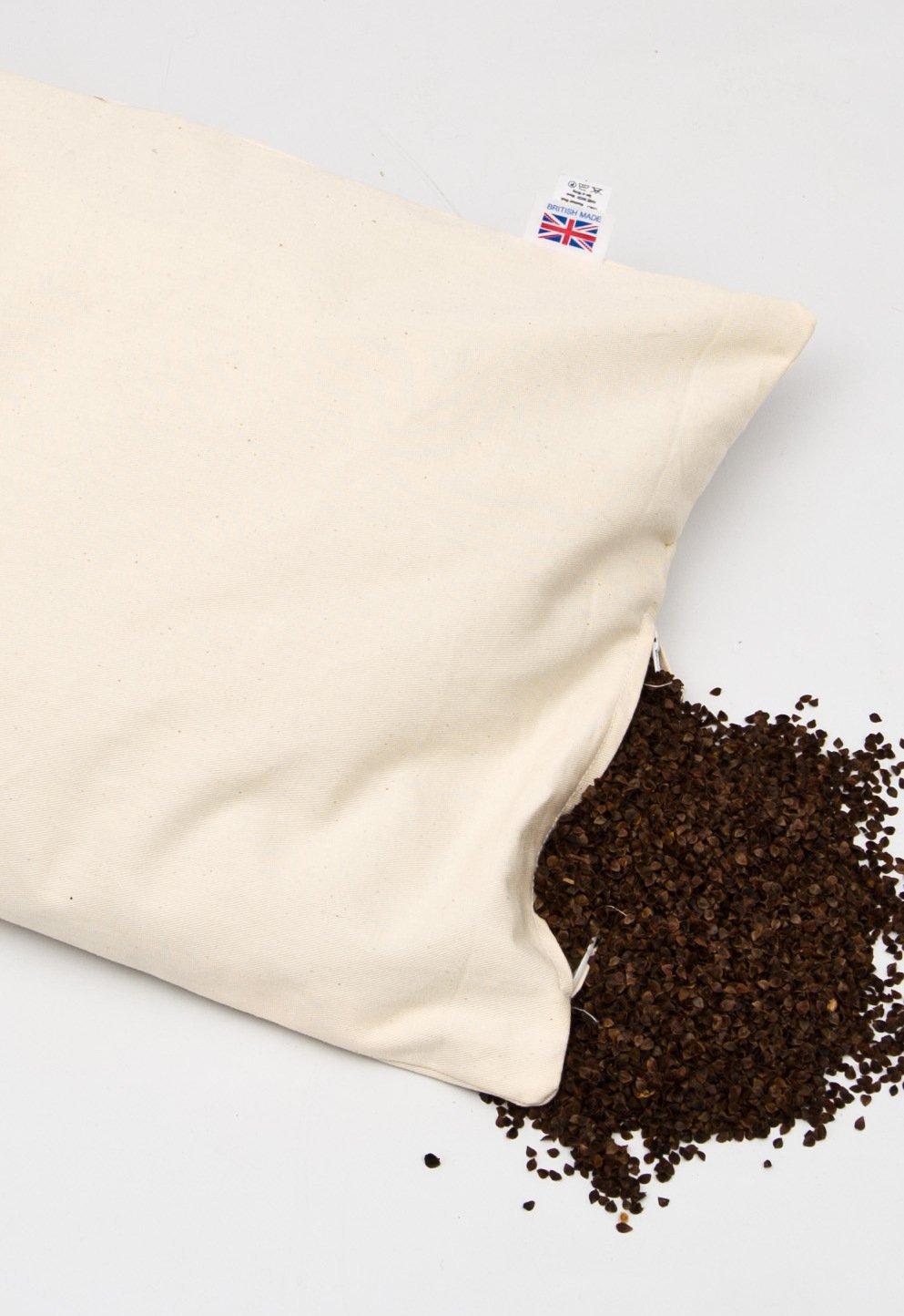 Organic Buckwheat Hull Pillow | Buckwheat Pillow Benefits | Sobakawa Buckwheat Pillow Queen