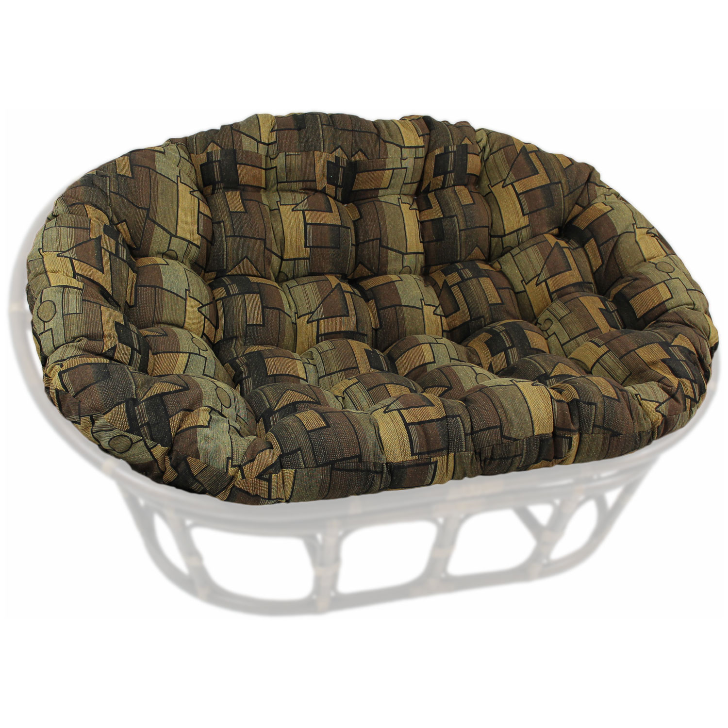 Papasan Cushion | Papasan Chair Frame | Black Papasan Chair
